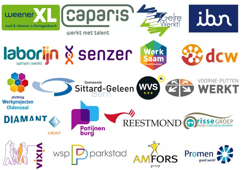 logo's van deelnemende organisaties